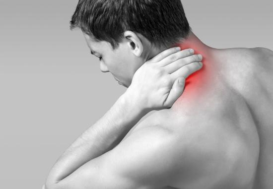 Neck spasms and pain can cause dizziness and unsteadiness.